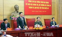 General Tran Dai Quang besucht Provinz Nghe An