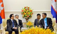 Der Sonderbeauftragte des KPV-Generalsekretärs besucht Kambodscha