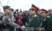 Erfolgreicher 3. Verteidigungsaustausch an der Grenze zwischen Vietnam und China