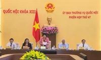 Eröffnung der 47. Sitzung des Ständigen Parlamentsausschusses