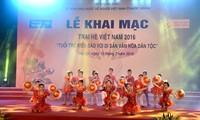 Eröffnung des Sommerlagers Vietnam 2016