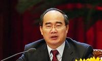 Der Vorsitzende der Vaterländischen Front Vietnams besucht Südkorea