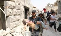 Russland sagt Einhaltung der humanitären Feuerpause in Aleppo zu