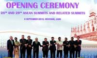 Eröffnung des ASEAN-Gipfeltreffens in Laos