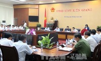 Vize-Parlamentspräsident Phung Quoc Hien besucht Kien Giang