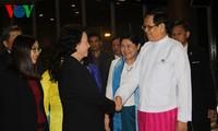 Parlamentspräsidentin Nguyen Thi Kim Ngan beginnt Myanmar-Besuch