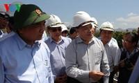 Telegramm über Beseitigung der Folgen von Überschwemmungen in Zentralvietnam