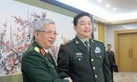 Förderung der Verteidigungszuammenarbeit zwischen Vietnam und China