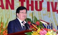Trinh Dinh Dung nimmt an Konferenz des Verbands der vietnamesischen Städte teil