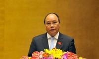 Premierminister Nguyen Xuan Phuc nimmt am KLV-Gipfeltreffen teil
