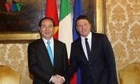 Staatspräsident Tran Dai Quang besucht Mailand