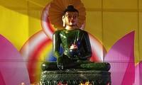 Provinz Soc Trang empfängt Jade-Buddha-Statue