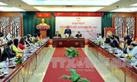Treffen mit Auslandsvietnamesen zum Tetfest