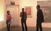 """Ausstellung """"Shape of Round"""" und Hochdrucktechnik von Pham Khac Quang"""