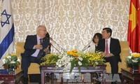 Israels Präsident Reuven Rivlin besucht Ho-Chi-Minh-Stadt