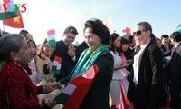 Aktivitäten der vietnamesischen Parlamentspräsidentin in Ungarn