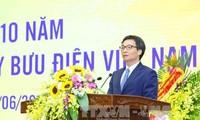 Feier zum 10. Gründungstag der vietnamesischen Post