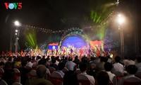 Abschluss des Festes zum Kultur-, Sport- und Tourismusaustausch Vietnams und Laos