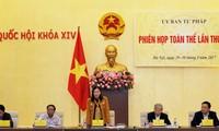 Sitzung des Justizausschusses findet in Ho-Chi-Minh-Stadt statt