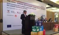 Asien-Europa-Konferenz über nachhaltige Entwicklung und Finanzierung