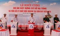 Spatenstich für den Bau der Infrastruktur für Dioxinentseuchung am Flughafen Bien Hoa