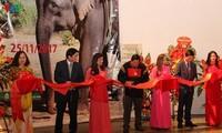 """Eröffnung der Ausstellung """"Elefanten in Tay Nguyen"""""""