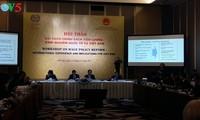 """Seminar """"Reform der Gehaltspolitik, internationale und vietnamesische Erfahrungen"""""""