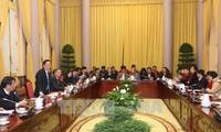 Staatspräsidentenbüro veröffentlicht die vom Parlament verabschiedeten Gesetze