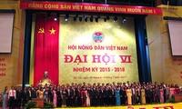 Kongres Nasional ke-6 Himpunan Tani Vietnam berakhir