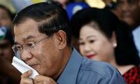 Hasil sementara pemilu Parlemen Kamboja untuk masa bakti ke-5