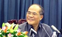 Ketua MN Vietnam, Nguyen Sinh Hung: Vietnam memprioritaskan penerapan dan pengembangan teknologi informasi