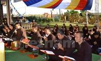 Aktivitas berterima kasih kepada para martir dalam membela laut dan pulau Vietnam