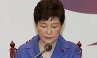 数十万韩国民众要求朴槿惠总统立即下台