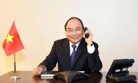 PM Vietnam, Nguyen Xuan Phuc melakukan pembicaraan telepon dengan beberapa legislator AS