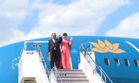 PM Vietnam, Nguyen Xuan Phuc tiba di kota Tokyo, Jepang