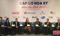 """Konferensi """"Pertemuan AS 2017"""" sekali lagi menegaskan hubungan kerjasama yang komprehensif  Vietnam-AS"""