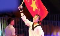 Taekwondo Vietnam merebut medali perak pada Kejuaraan dunia