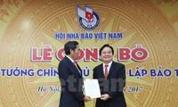 Mengumumkan Keputusan PM tentang pembentukan Museum Pers Vietnam