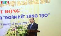 Mengumumkan Buku Emas Kreatif Vietnam tahun 2017