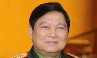Jenderal Ngo Xuan Lich melakukan kunjungan resmi di Republik Indonesia