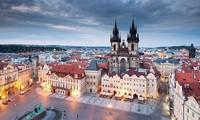 Memperingati ultah ke-99 Hari Nasional Republik Czech