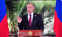 Presiden Rusia, Vladimir Putin menilai tinggi semua tema di KTT APEC 2017