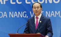Presiden Vietnam, Tran Dai Quang: APEC 2017 menegaskan peranan dan posisi Vietnam di gelanggang internasional