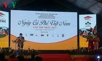 Pembukaan Hari Kopi Vietnam kali pertama tahun 2017