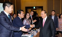 PM Vietnam, Nguyen Xuan Phuc menghadiri Forum tahunan VBF tahun 2017