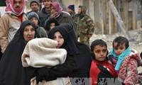 Russia sends aid to eastern Aleppo