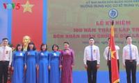 Trung Vuong Junior Secondary School marks 100th anniversary