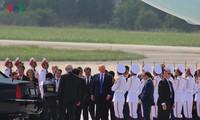 President Donald Trump begins State visit to Vietnam