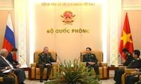 Vietnam, Russia seek to boost defense ties