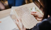 Memories from handwritten letters of the past century